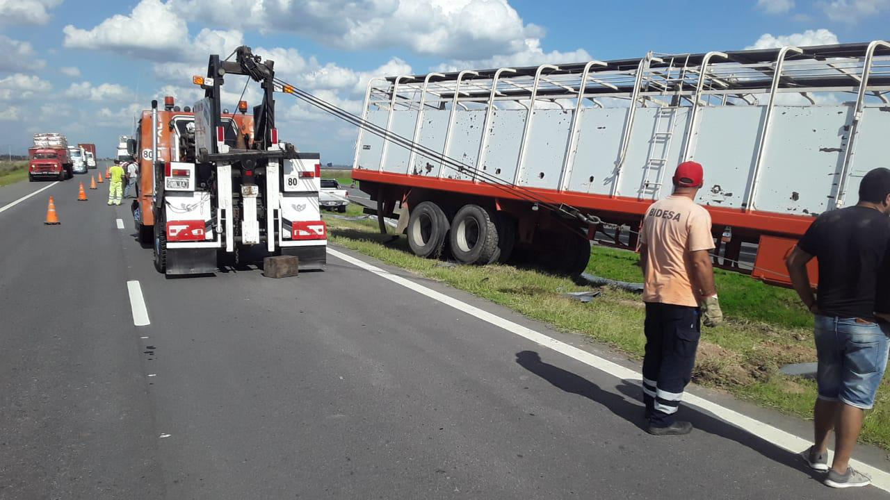 Incidente con camión, RN 7_KM128,5